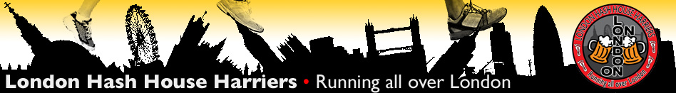 London Hash House Harriers running and drinking club
